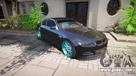 BMW E92 for GTA 4 wheels