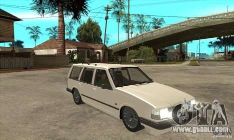 Volvo 945 Wentworth R for GTA San Andreas back view