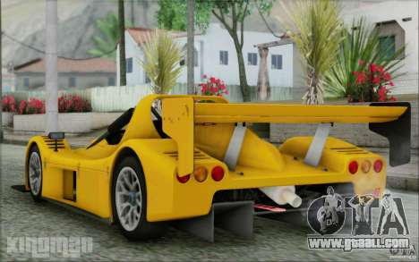 Radical SR3 RS 2009 for GTA San Andreas left view