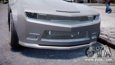 Chevrolet Camaro 2009 for GTA 4 side view