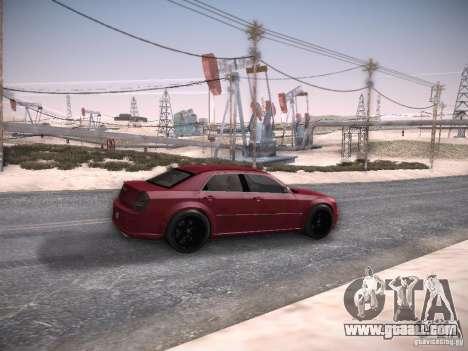 Chrysler 300C SRT8 for GTA San Andreas right view