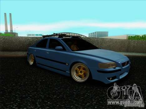 Volvo S60 for GTA San Andreas back left view