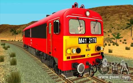MAV M41 2178 Rattler for GTA San Andreas