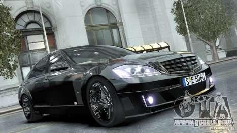 Mercedes-Benz Brabus SV12 R Biturbo 800 2011 for GTA 4
