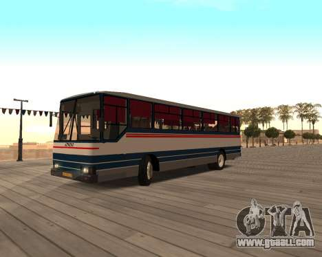 Autosan H10-11B for GTA San Andreas back left view