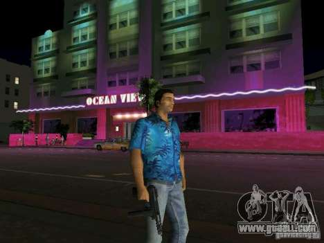 Tommy Vercetti BETA model for GTA Vice City second screenshot