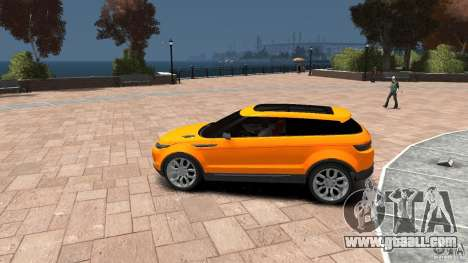 Range Rover LRX 2010 for GTA 4 left view