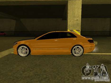 GTAIV Schafter Modded for GTA San Andreas back left view