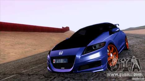 Honda CR-Z Mugen 2011 V1.0 for GTA San Andreas