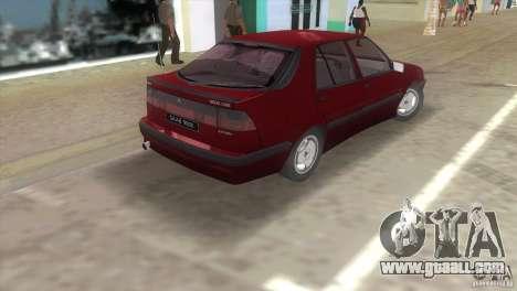 SAAB 9000 Anniversary v1.0 for GTA Vice City back left view