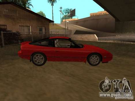 Nissan 240SX tunable for GTA San Andreas back view
