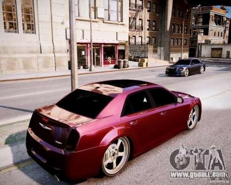 Chrysler 300 SRT8 DUB 2012 for GTA 4 back view
