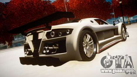Gumpert Apollo Sport KCS Special Edition v1.1 for GTA 4 left view