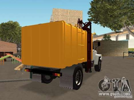 GAZ 3309 for GTA San Andreas left view