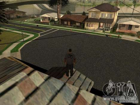 New roads in Los Santos for GTA San Andreas