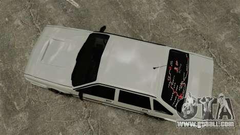 Volkswagen Santana Shanghai Century Rookie for GTA 4 right view