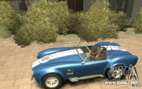 Shelby Cobra 427 SC 1965 for GTA 4 left view