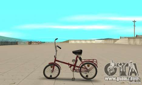 Kama bike for GTA San Andreas left view