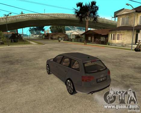 Audi A4 2005 Avant 3.2 quattro for GTA San Andreas left view
