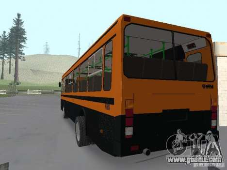 LIAZ 5256.25 for GTA San Andreas left view