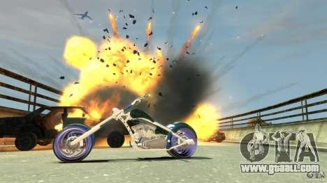 HellFire Chopper for GTA 4 side view