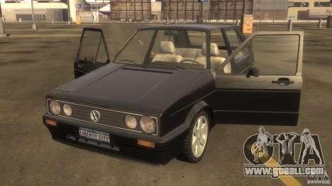 Volkswagen Golf for GTA 4 left view