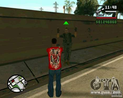 Iraqi Soldiers for GTA San Andreas