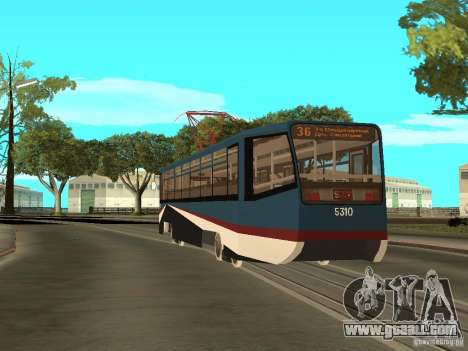 The NEW Tramway for GTA San Andreas sixth screenshot