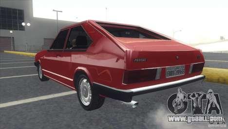 Volkswagen Passat TS 1981 Original for GTA San Andreas left view
