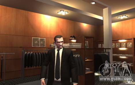 Open jackets with ties for GTA 4 sixth screenshot