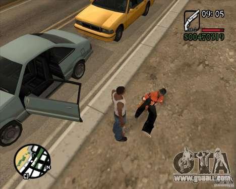 Endorphin Mod v.3 for GTA San Andreas fifth screenshot