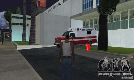 First aid kit 1.0 for GTA San Andreas