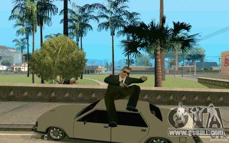 Black MIB for GTA San Andreas second screenshot
