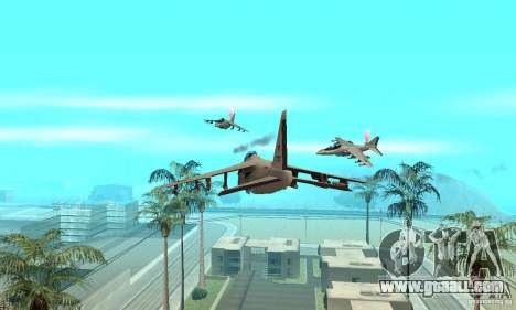 Air War for GTA San Andreas third screenshot