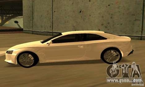 Audi Quattro Concept 2013 for GTA San Andreas back left view
