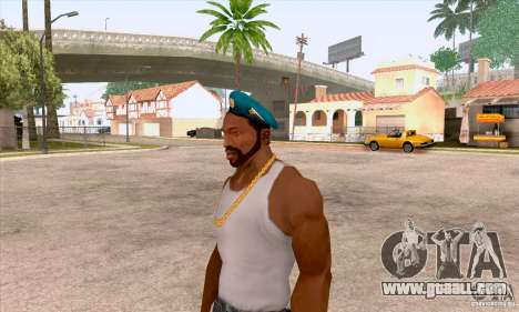 AIRBORNE beret for GTA San Andreas second screenshot
