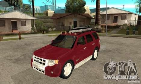 Ford Escape 2009 for GTA San Andreas