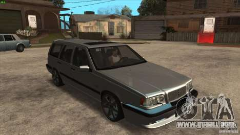 Volvo 850 R for GTA San Andreas back view