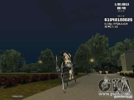 P-body for GTA San Andreas third screenshot