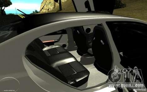 Honda Civic Type R for GTA San Andreas inner view