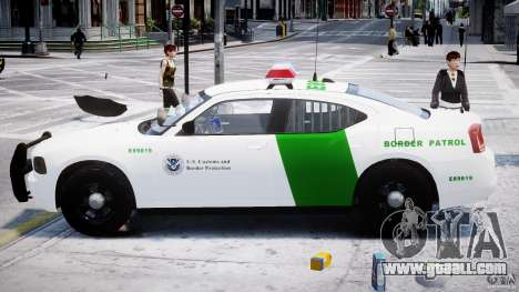 Dodge Charger US Border Patrol CHGR-V2.1M [ELS] for GTA 4 inner view