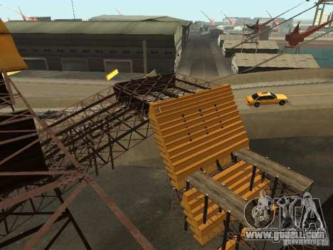 Huge MonsterTruck Track for GTA San Andreas