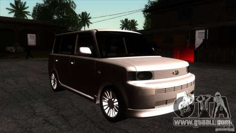 Toyota BB for GTA San Andreas back view