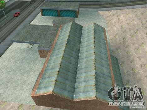 New garage in Doherty for GTA San Andreas eighth screenshot