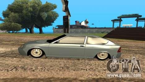 LADA Priora 2172 for GTA San Andreas wheels