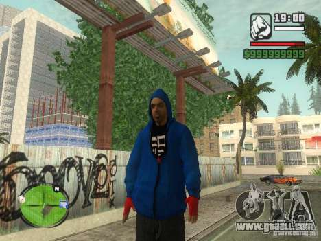 RunMan for GTA San Andreas