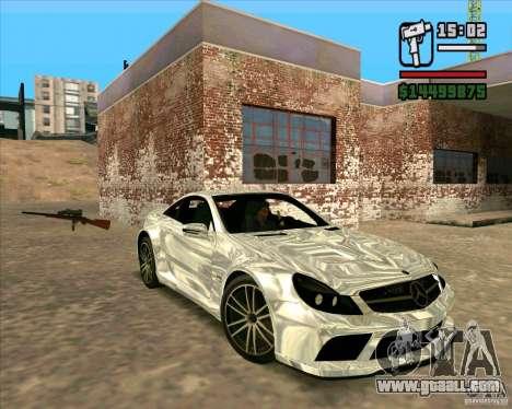 Mercedes-Benz SL65 AMG Black Series for GTA San Andreas left view