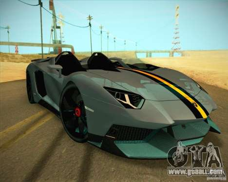 Lamborghini Aventador J for GTA San Andreas
