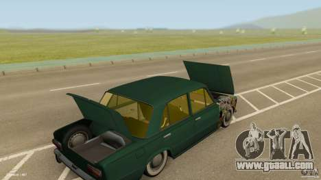 VAZ 2101 Low & Classic for GTA San Andreas inner view