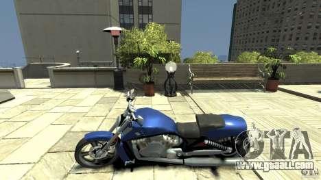 Harley Davidson VRSCF V-Rod for GTA 4 left view